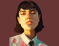Girl&Roses