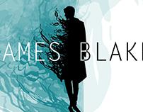 James Blake *mockup concert poster