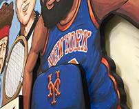 Mural for Warren 77