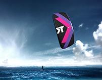 Kite design for Takoon Kiteboarding