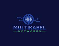 Multikabel Networks Logo Design