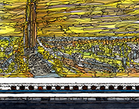 panorama Series Hamamatsu Station~evening~