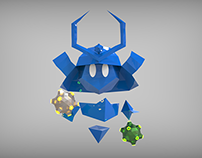 Polyseum - Minesweeper Character