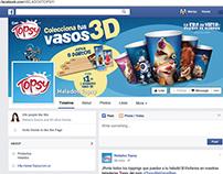 Helados Topsy Marketing de contenidos en redes sociales