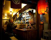 Yakitori restaurants, Shinjuku, Tokyo