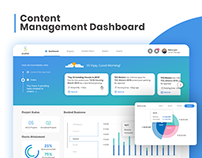 Content Management System Dashboard UI/UX