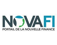 Novafi.fr design and front-end development