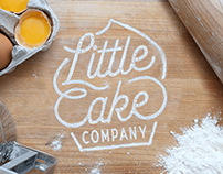 Little Cake Company Brand Identity