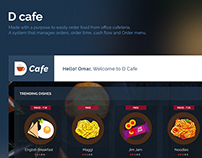D Cafe Dashboard
