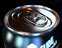 Cube Parallèle | 3D Product Animation | Honey Drink