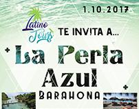 Latino tours flyer