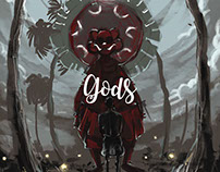 Gods - Illustrated Book Design