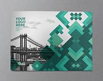 Modern Green Pattern Brochure
