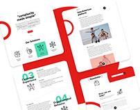 Global Link • Website redesign
