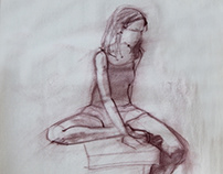 Figure Drawing, girl