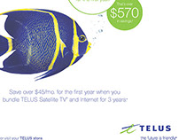 TELUS - Provincial Newspaper Ads