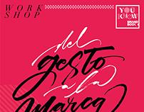 AVISO WORKSHOP DE NICOLÁS ROJAS LEÓN | YOUKNOW