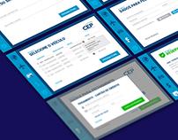 App CEP Transportes - UX/UI