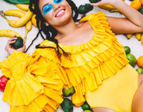 MALAIKA DENISE FOR 'PEACE OF FRUIT'