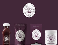 Natural Products eCommerce Web Design - Queen Garnet