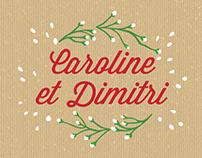 Mariage Caroline & Dimitri