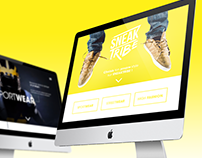 Responsive Web Design | Sneakers Shop