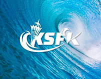 Logo for Kite-surfing and surfing federation KZ