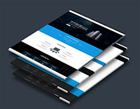 Free! Responsive Hosting With WHMCS Template