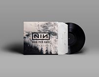 Nine Inch Иails LP cover design