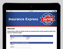 Insurance Express - Web Site data campaign