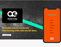 Logo & Web design for Aeternity
