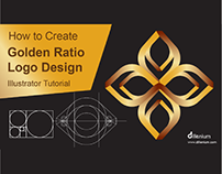 How to Design a Logo with Golden Ratio