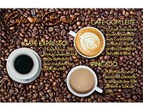 Papel bandeja - Cafés do Brasil