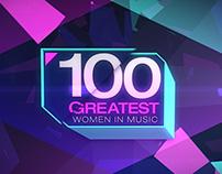 Vh1 / 100 Greatest Women in Music