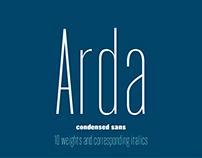 Font Arda | Шрифт Arda