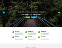 Tour Company Landing page