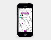 Vårdkartan app design