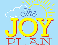 The Joy Plan Book Cover Illustration and Lettering