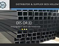 Distributor & Supplier Besi Hollow