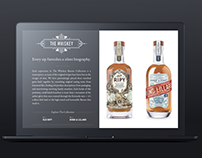 Campari - The Whiskey Barons - Landing Page