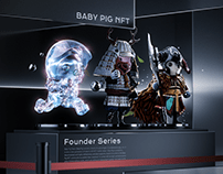 Baby Pig NFT - Founder Series