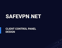 SafeVPN — Client control panel