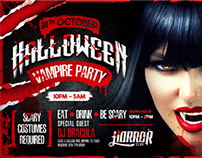 Halloween Night Party Flyer vol.3