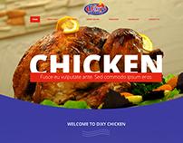 Dixy Chicken UK -  Wordpress theme design