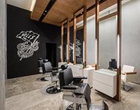 Foto de Arquitectura d Walls Barbershop x Wacho Espinos