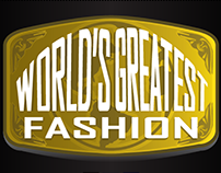 World's Greatest Fashion Logo & Call Card Design