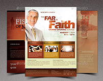 Faith Church Marketing Flyer Bundle