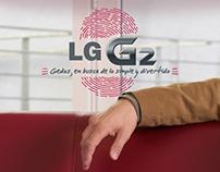 LG / Sitio lanzamiento LG G2