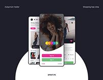 Shopping App (Spirit.pk) - UX/UI Interaction Design