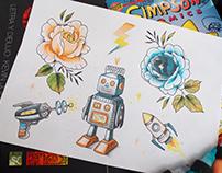 Robots & Roses